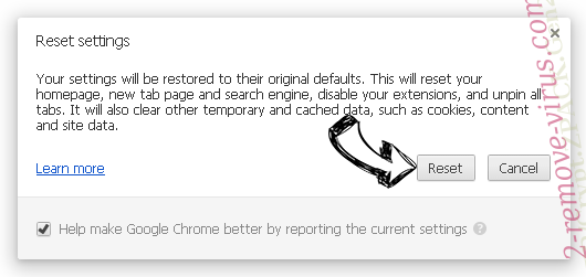 Anygamesearch Chrome reset