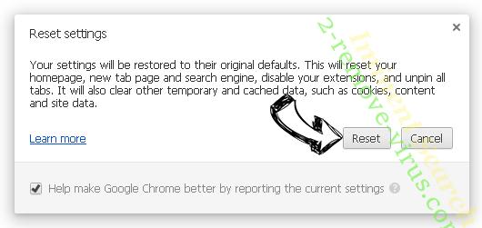 Aidraiphejpb.com Ads Chrome reset