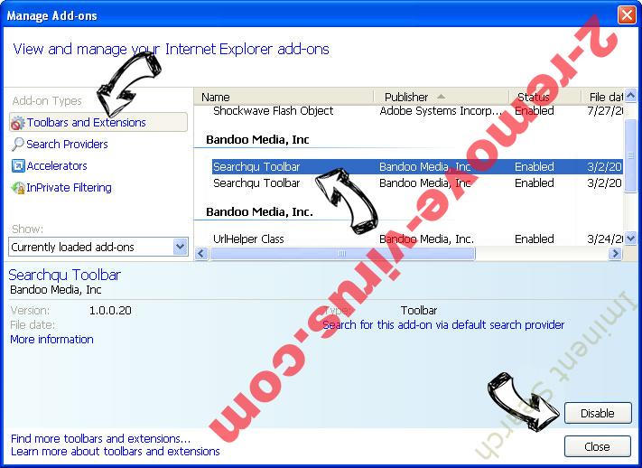 Aidraiphejpb.com Ads IE toolbars and extensions