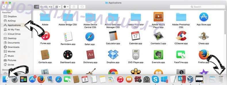 Aidraiphejpb.com Ads removal from MAC OS X
