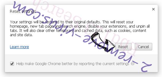 Financesurvey24.top Ads Chrome reset