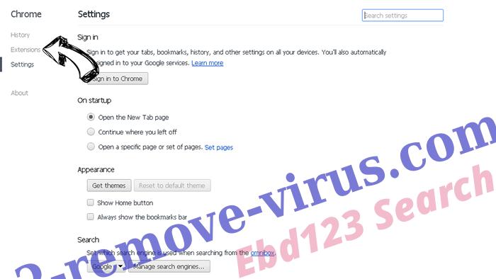 Financesurvey24.top Ads Chrome settings