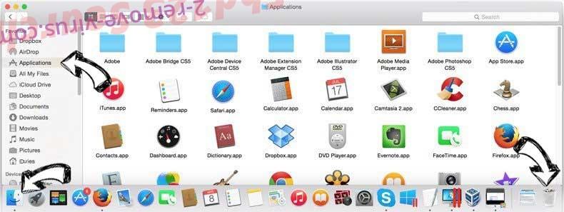 Financesurvey24.top Ads removal from MAC OS X