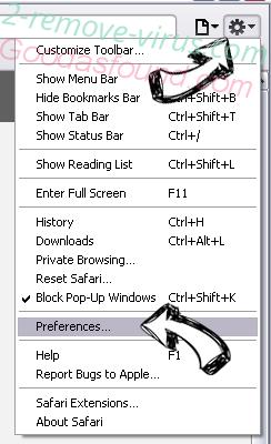 ProductEvent adware Safari menu