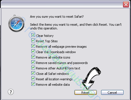 ProductEvent adware Safari reset