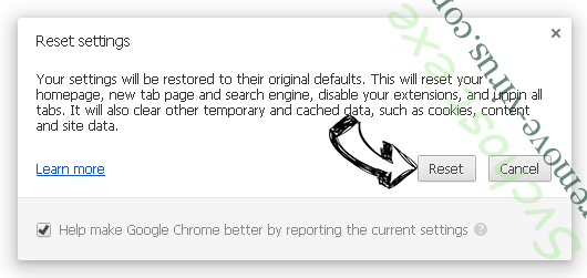 CrossBrowser Chrome reset