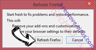 CrossBrowser Firefox reset confirm