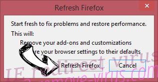 ZenSearch.com Firefox reset confirm