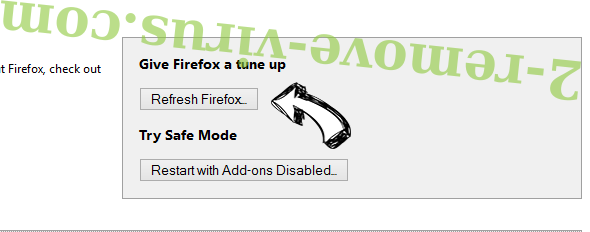 Diokle.pro pop-up ads Firefox reset