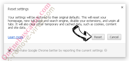 The-best-push-news.com Chrome reset