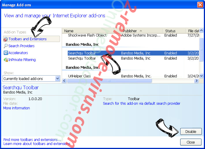 PDFConverterSearch4Free IE toolbars and extensions