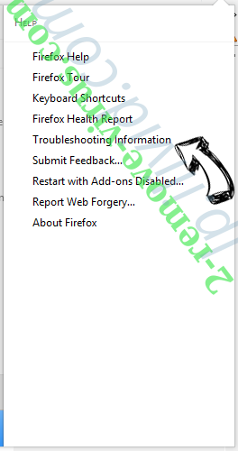 Special-update.info Firefox troubleshooting