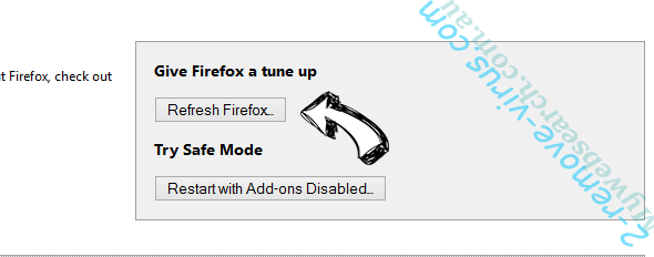 Special-updates.live Firefox reset