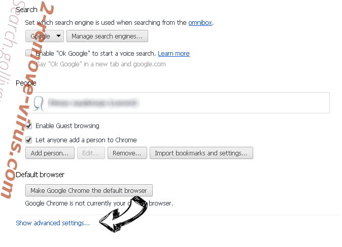 search.validplatform.com Chrome settings more