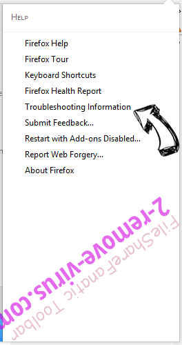 Search.smokycap.com Firefox troubleshooting