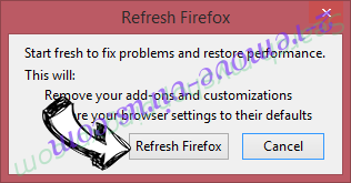 MovieSearchTV Firefox reset confirm
