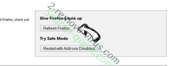 Wowcalmnessdumb.com Firefox reset