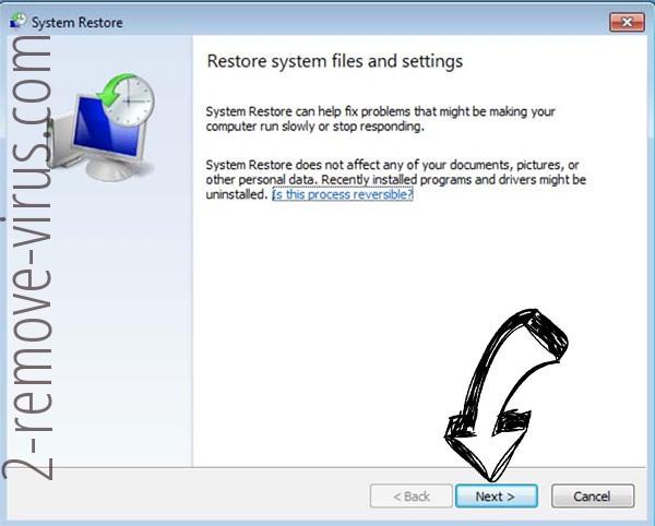 Get rid of Resgateseup ransomware - restore init