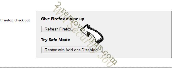 BeginnerData Firefox reset