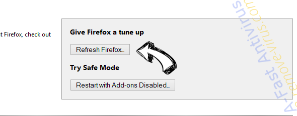 Softonic Web Search redirect Firefox reset