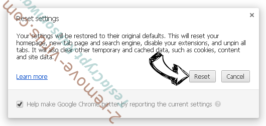 ChannelSystem Adware Chrome reset