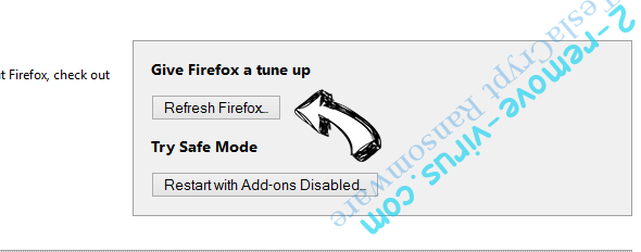 Web Companion Unwanted Application Firefox reset