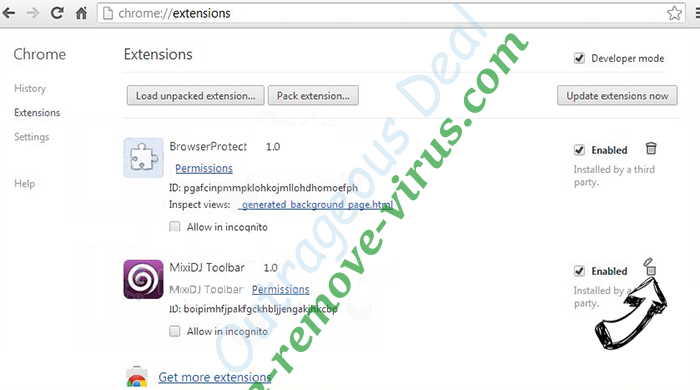 Tatilyerlerim.com Chrome extensions remove