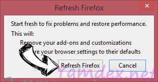 Yamdex.net Firefox reset confirm