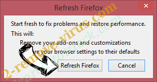 Search.easyrecipesaccess.com Firefox reset confirm