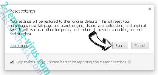 x2convert.com Chrome reset