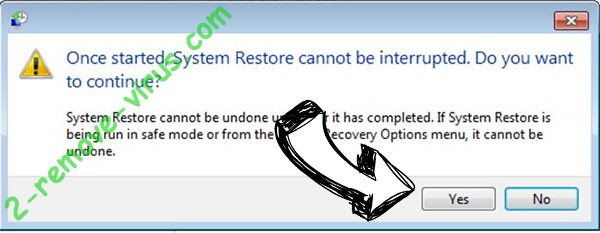 Idecrypt ransomware removal - restore message