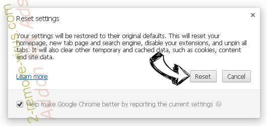 Searchfx.net Chrome reset