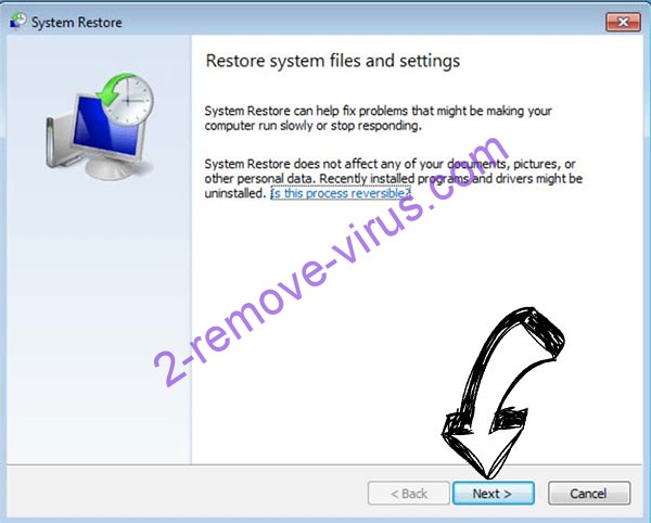 Get rid of .ACTOR file ransomware - restore init