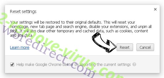wbredirect.com Chrome reset