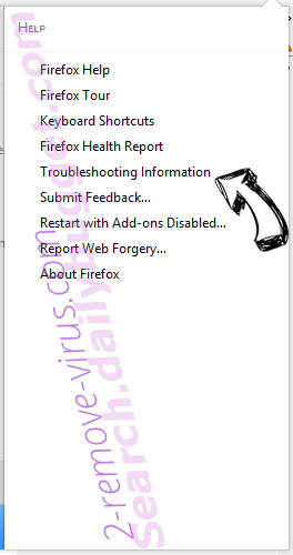 Search.easyemaillogintab.net Firefox troubleshooting