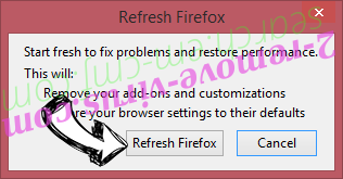 Search By MovieFinder365  Firefox reset confirm