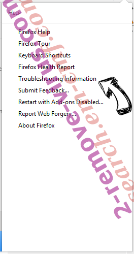 IncognitoSearchTech Firefox troubleshooting