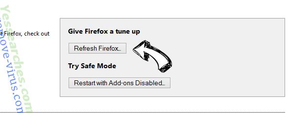 AllMusicSearches.com Firefox reset