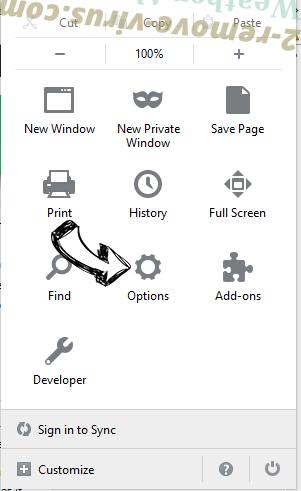 Amarktflow Firefox reset confirm