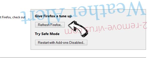 Amarktflow Firefox reset