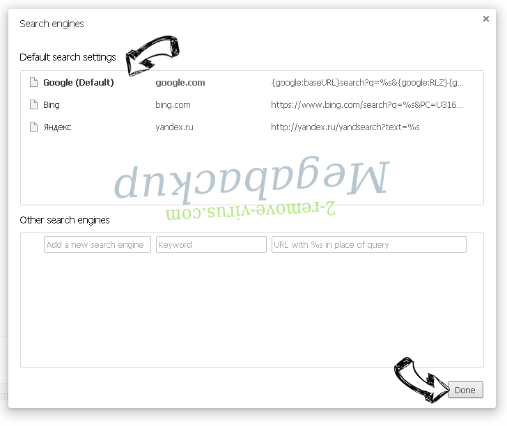 Searchlee Virus Chrome extensions disable