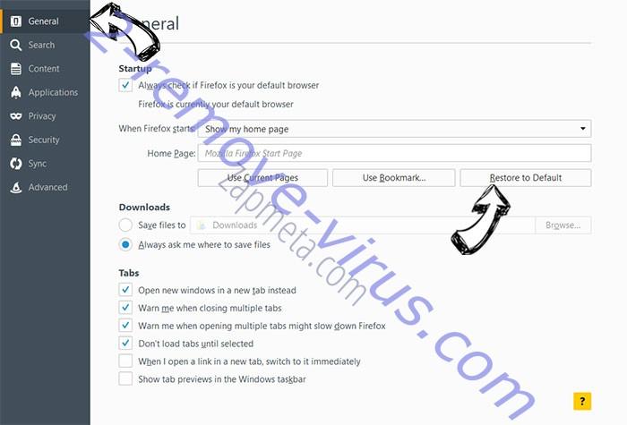 0sntp7dnrr.com Firefox reset confirm