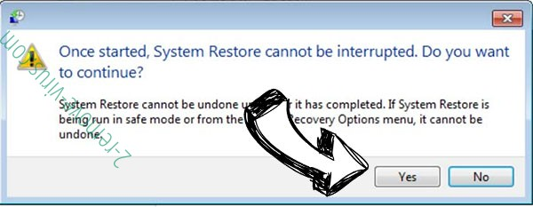 .Pxj file virus removal - restore message