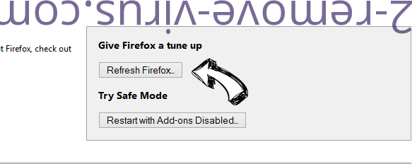 Streamwatch.site pop-up ads Firefox reset