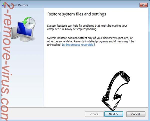Get rid of SatanCryptor ransomware - restore init