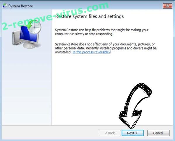 Get rid of Ribd Ransomware - restore init