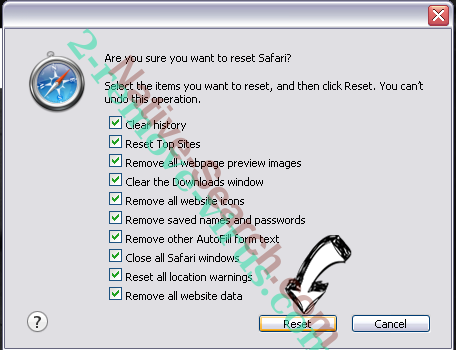 * Will Damage Your Computer. You Should Move It To The Trash. POP-UP (Mac) Safari reset