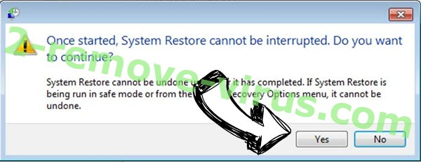 LockfilesKR ransomware removal - restore message
