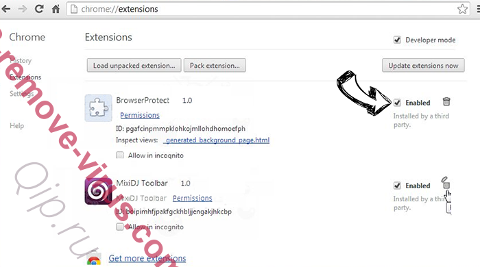 gdipfontcachev1.dat Chrome extensions disable