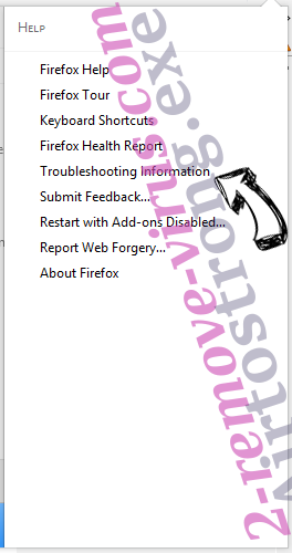 Search.hmymapsfinder.com Firefox troubleshooting